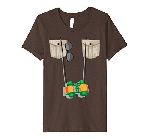 Child Zookeeper Costume (Kids Zoo Keeper Halloween Costume - Jungle Safari Explorer Gift 4 Brown)