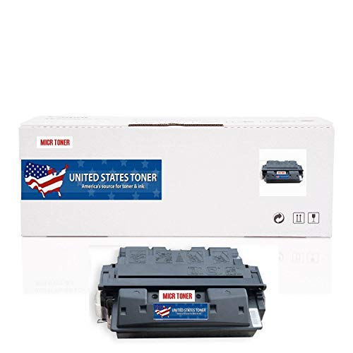 United States Toner Compatible Laserjet 4100 MICR Toner Cartridge High Yield Replacement for HP C8061X 61X Laserjet 4100 4100mfp 4100dtn 4100n 4100tn. Yields up to 10000 Pages.