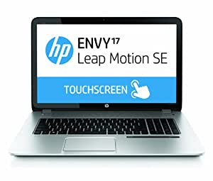 "HP ENVY TouchSmart 17-j000 17-j060us 17.3"" Touch and Leap Motion SE Laptop Notebook (2.5 GHz Intel Core i5-4200M processor, 8 GB DDR3 memory, 750 GB Hard disk, Windows 8)"