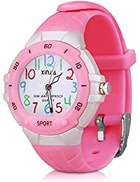 116 Kids Watch 30M Waterproof,Children Cartoon Wristwatch...