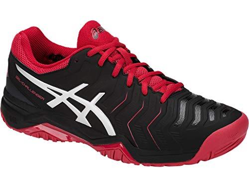 ASICS Men's Gel-Challenger 11 Tennis Shoes, Black/Silver, Size 11 (Tennis Shoes Mens Tennis)