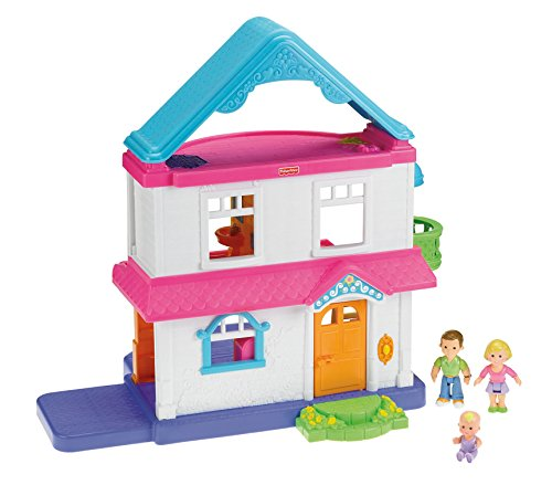 Buy Fisher-Price Loving Family, My First Dollhouse Online at Low ...