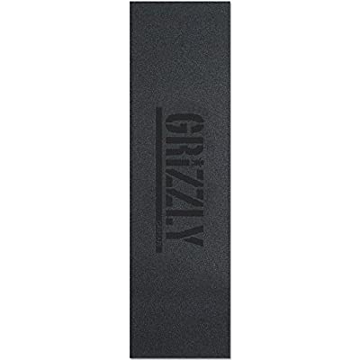 Grizzly Grip Plaque Stamp Print Noir