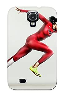 Galaxy S4 Ikey Case Cover Skin : Premium High Quality Allyson Felix Case(nice Choice For New Year's Day's Gift)