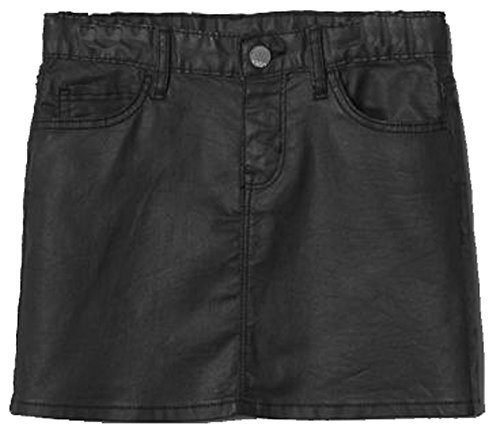 Gap Kids Girls Black Coated Mini Skirt ()