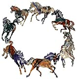 "20"" Circle Of Horses Wall Art"