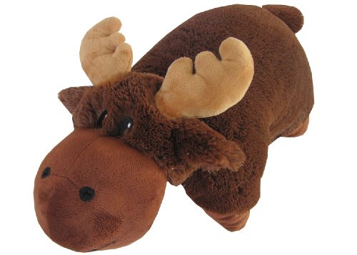 Brown Moose Zoopurr Pets Embroidered