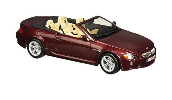 Maisto Die Cast 1:18 Scale Metallic Red BMW M6 Cabriolet by Maisto Tech