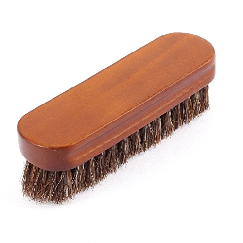 uxcell Wooden Imitated Bristle Cleaning