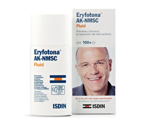 SUNSCREEN ISDIN ERYFOTONA AK-NMSC spf100+ FLUID 50ml. NON-MELANOMA SKIN CANCER by Anti-Aging Products