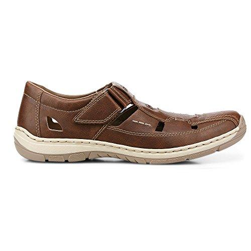 Men 08065 Rieker Zapatillas Sneakers marrón Hombre vEWFz6FP