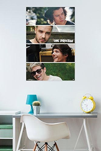 Trends International 1D Group Collage Wall Poster 22.375'' x 34'' by Trends International (Image #1)