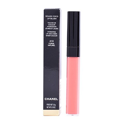 Chanel Rouge Coco Lip Blush, 414 Tender Rose, 0.19 Ounce ()