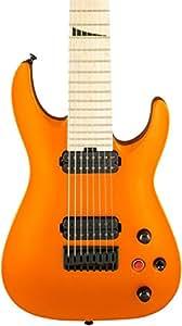Jackson Pro Dinky DKA8 Electric Guitar Satin Orange Blaze