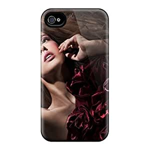 iphone covers fashion case Awesome Design Brunette Image Dress Beautiful Model case cover For xMTQZlrTcLy Iphone 6 plus WANGJING JINDA