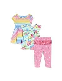 The Children's Place - Conjunto de Ropa de Juego con Capucha y pantalón para bebé, diseño de Princesa con Estampado de Animales