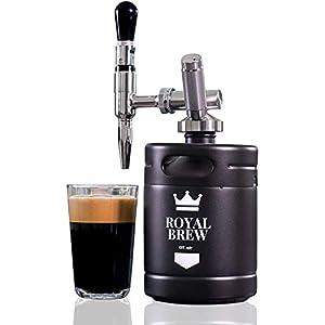Royal Brew Nitro Cold Brew Coffee Maker Home Keg Kit