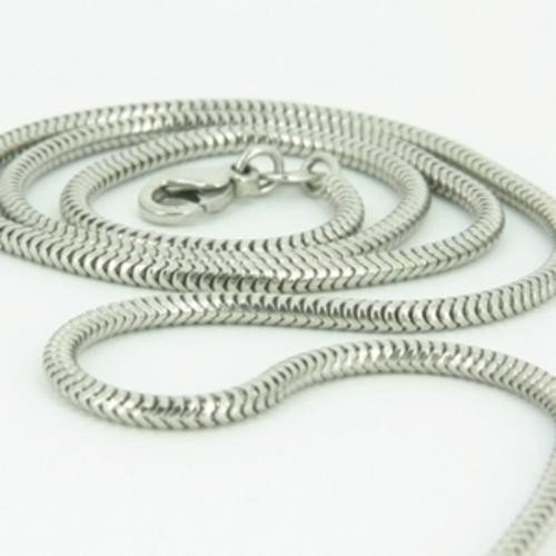 2mm solid sterling silver 925 Italian round SNAKE CHAIN necklace bracelet anklet with lobster claw clasp fits Pandora charms – 6, 8, 10, 12, 14, 16, 18, 20, 22, 24, 26, 28, 30, 32, 34, 36, 38, 40