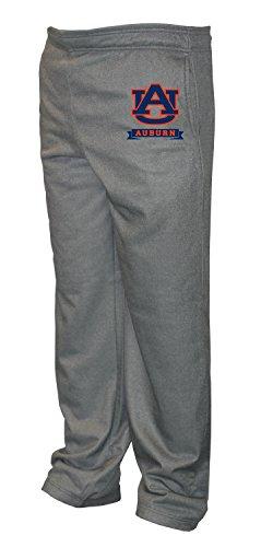 Old Varsity Brand NCAA Auburn Tigers Big Men's Poly Fleece Pants, 3X-Large/Tall, Dark Heather