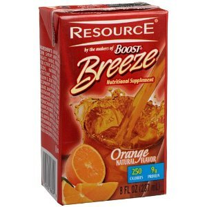 Boost Breeze Resource Drink, Orange 27 ea (Resource Boost)