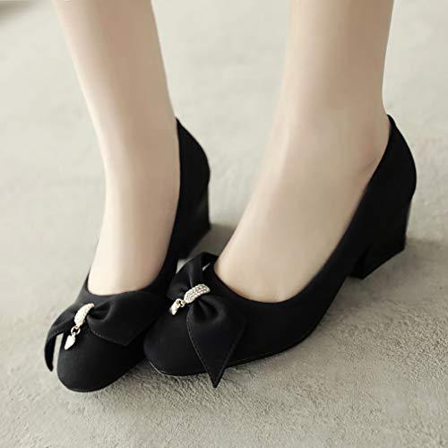 Chaussures ToeCM Escarpins 5 Square Femme sur Glisser Vaneel Noir vadxst 7wavqFc8