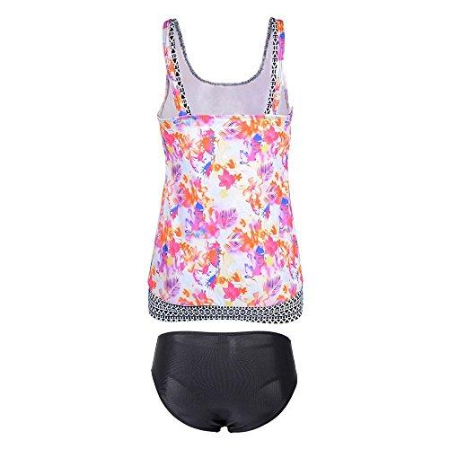 costumi Swimwear Estate bagno AHOOME Plus Pezzi da Donna Bikini Size 2017 Due Arancione Tankini P4qpwd
