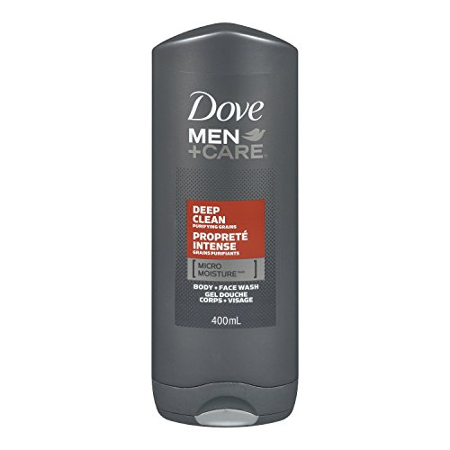 Dove Men+Care Deep Clean Micro Moisture Body + Facewash 400ml