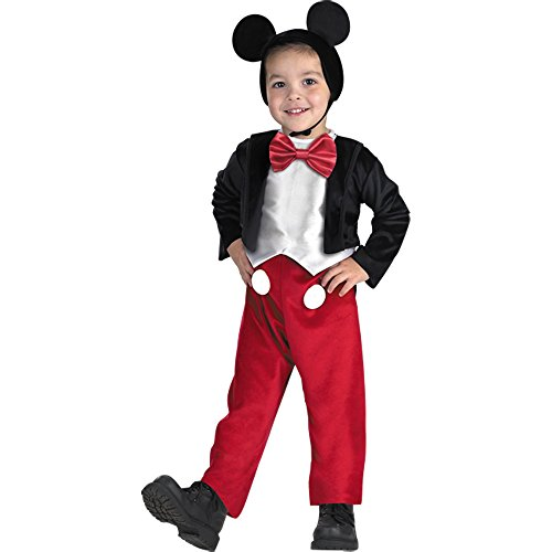 Mickey Mouse Deluxe Child Costume - Small