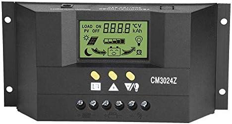 ACAMPTAR CM3024Z 12 V / 24 V 30 ein Regler Generator Lade Modus PWM Spannung LCD Solar Controller Plug In