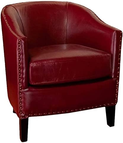 Noble House Jeremy Leather Club Chair Review