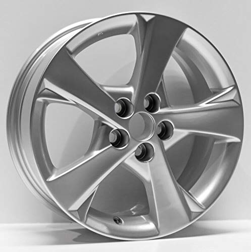(Partsynergy Replacement For New Replica Aluminum Alloy Wheel rim 16 Inch Fits 11-13 Toyota Corolla 5 Spokes 5-102mm)