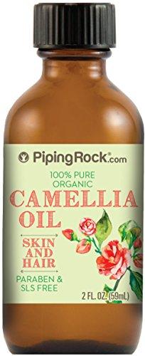 Camellia 100% Pure Oil 2 fl oz Cold Pressed Carrier Oil