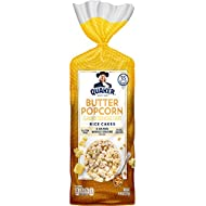 Quaker Rice Cakes, Buttered Popcorn, 4.47 Ounce