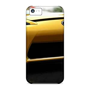 XiFu*MeiProtection Cases For ipod touch 4 / Cases Covers For Iphone(yellow Lexus Lfa)XiFu*Mei