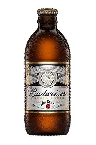 2018 Anheuser-Busch Budweiser Jim Beam Copper Lager EMPTY 12oz Bottle ()