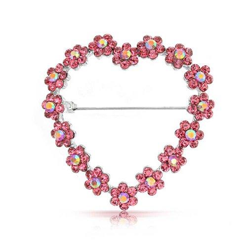 Birthstone Heart Pin - 4