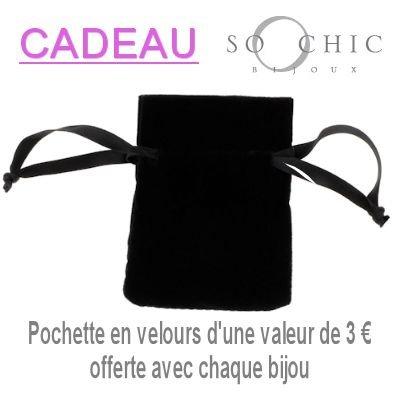 So Chic Bijoux © Bracelet Identité 20 cm Maille Gourmette Diamantée 6 mm Plaqué Or 750 - Personnalisable : Gravure offerte