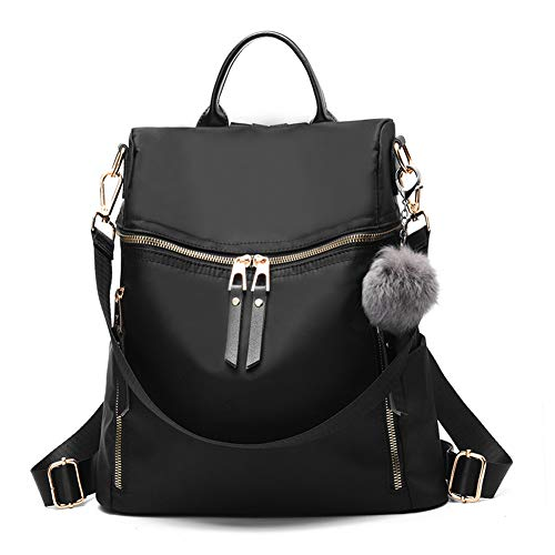Designer Leather Backpack Purse Multifunctional Ladies Backpacks Solid Shoulder Headphone Plug Bags for Womens Book Bags