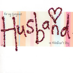 For My Gorgeous Husband  Handmade Valentines Card  BR911