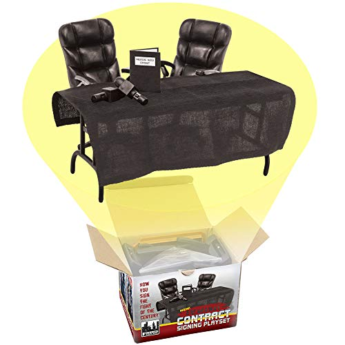 Breakaway Contract Signing Accessory Playset WWE Wrestling Action - Elite Chair Office