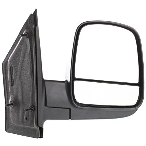 OE Replacement Chevrolet/GMC Passenger Side Mirror Outside Rear View (Partslink Number GM1321395) (Gmc Savana Passenger)
