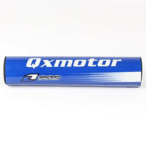 """Motorcycle Cross Bar Pad 7/8"""" Handlebars 10"""" 250mm For CRF KXF RMZ YZF KTM Motocross Enduro Handlebars JXMOTO (blue)"""