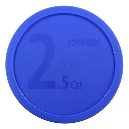 Pyrex 325-PC Blue Lid for 2.5-Quart (2.4L) Mixing Bowl