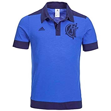 Real Madrid Adidas - Camiseta de manga corta de fútbol, color azul, hombre, Royal Blue, Navy Blue, mediano: Amazon.es: Deportes y aire libre