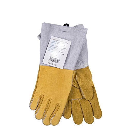 Multifunctional welders welding gloves fire wire wear - resistant flame - retardant breathable anti - cutting gloves security supplies by LIXIANG (Image #4)
