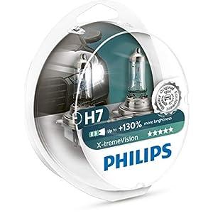 Philips 12972XV+S2 X-tremeVision Halogen Headlamp H7, 12 V, 55 W, Set of 2