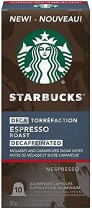 Starbucks by Nespresso Decaf Espresso Roast Nespresso Coffee Capsules, Original Line Compatible, 5 X 10 Nespre