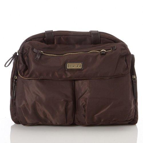 特別オファー Carter's Brown Carter's Duffle Carter's Diaper Tote Bag by Duffle Carter's B00KLN8D5K, hyog:d8e46131 --- ballyshannonshow.com