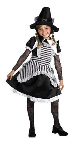 [Deluxe Salem Witch Costume - Child Medium] (Salem Witches Costumes)
