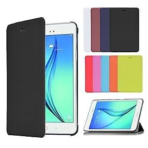Inteligente caso de negocios de libro de cuero de la PU de la cubierta para samsung galaxy tab 8,0 t350 / tab un 9,7 T550 (colores ( Color : Blanco , Modelos Compatibles : Galaxy Tab A 8.0 )